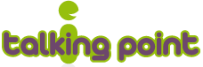 talking point logo